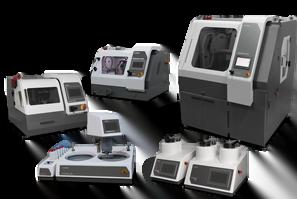 Urządzenia i materiały eksploatacyjne do metalografii.